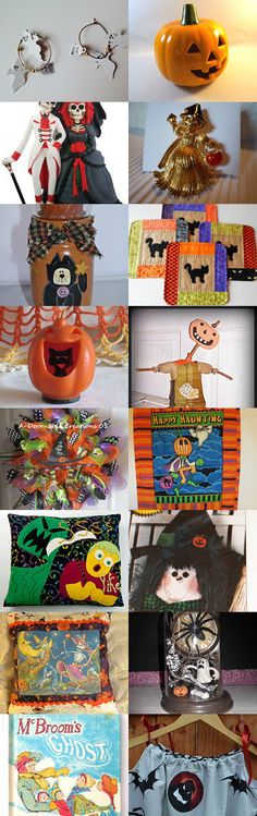 TeamVintageUSA - All That Is Halloween by Michele on Etsy--Pinned with TreasuryPin.com
