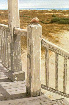 Front Porch by North Carolina Artist Bob Timberlake ♥