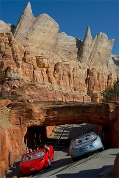 Disney's California Adventure -    Cars Land - Want to do with my son.    :)