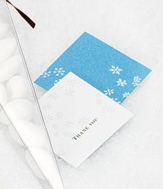 Winter Wonder Gift Tags from TheWeddingOutlet.com