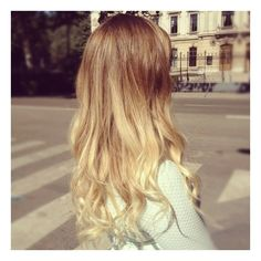 ombre hair ❤ liked on Polyvore