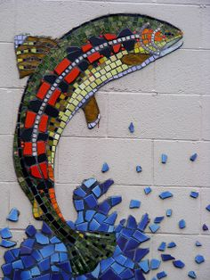 Fish Mosaic     #mosaic