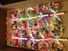 Butterfly Candy Bags Idea Off Pinterest