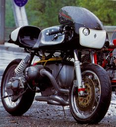 Cafe Racer Kansas City › BMW Boxer Twin Cafe Racers