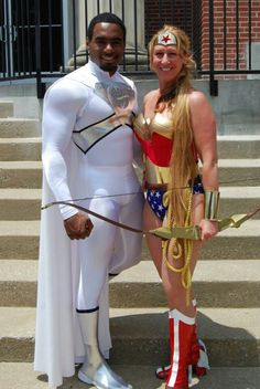 #Cosplay #Kryptonian: #Superman & Wonder Woman