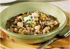 Slow-Simmered Chicken Rice Soup is one of those easy slow cooker soup recipes that's perfect on a cold day. Wild rice soup is sometimes refe...