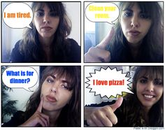 Teach kids about different types of sentences by making selfie comics