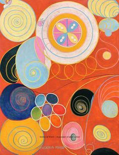 ART: Hilma AF Klint: A Pioneer of Abstraction by Hilma af Klint,  Iris Muller-Westermann (Editor), Pascal Rousseau (Text), David Lomas (Text) (Hatje Cantz Publishers)