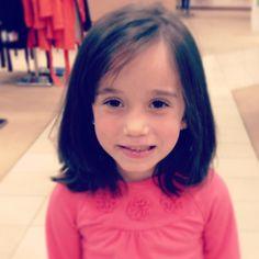 Cute hair cut for little girls