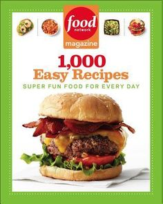 Food network cookbook