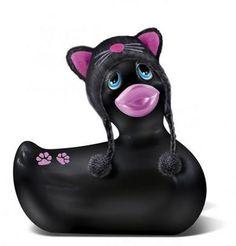 I Rub My Duckie Black & Pink