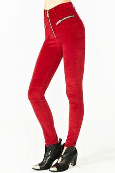 $128 Axl Velvet Pant