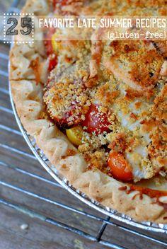 free recip, savori pie, foodgluten free, tomato pie, summer recipes