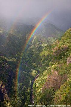 Rainbow,Kauai, Hawaii