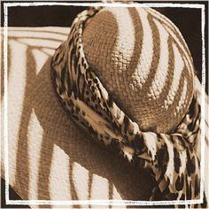 SHADY HATS  Photography series sepia floppy hats ladies women set straw lace. $24.00, via Etsy.