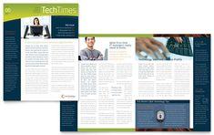 Techtimes free newsletter template