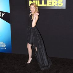 Love Emma Roberts in Michael Kors, especially from the side