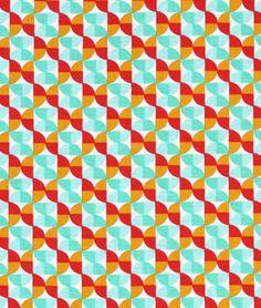 Joel Dewberry Hourglass Poppy Fabric - $8.9 | onlinefabricstore.net