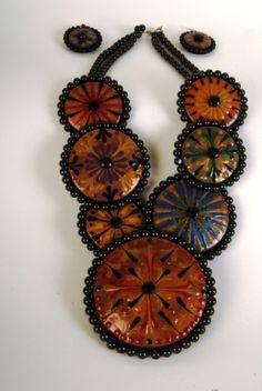 gourd jewelri, gourd art, necklac set, gourd almighti, miriam joy, goard jewelri, gourds, necklaces, jewelri endeavor