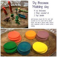 DIY Beeswax Modeling Clay