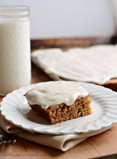 Pumpkin Sheet Cake w