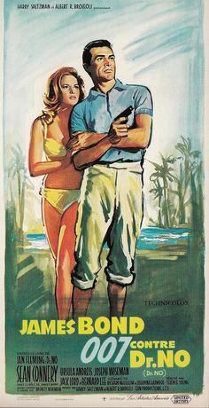 James Bond 007 1963 (French) Movie Poster