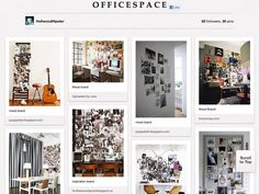 Boards to follow: an article on pinterest and office inspiration.