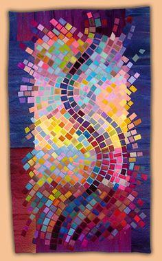 Anne Lullie - quilt artist - teacher