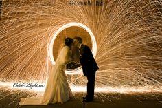 Light painting. #wedding #photography