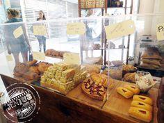 Sweet Street Bakery, Parramatta - friands, pistachio slices, more tarts