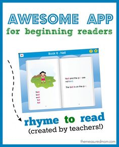 Rhyme to Read: An awesome reading app! (review and giveaway)