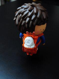 Ren carries baby treeson :D