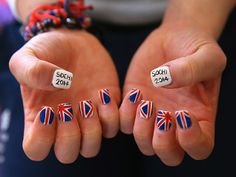 Athletes' Winter Olympics Nail Art Takes the Gold http://www.ivillage.com/winter-olympic-nail-art-takes-gold/5-a-562211