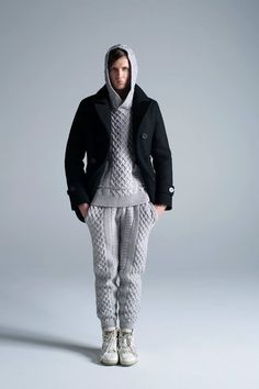 Knits and Modern cuts by Habanos (HBNS) for fall/winter 2014. www.selectism.com