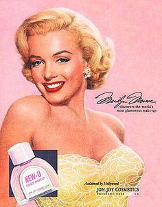 Vintage Marilyn Ad