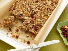 Ina's Homemade Granola Bars! One of my fav recipes!!