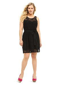 $68.50 Black Allover Lace Tank Dress | Dresses--this is beautiful!!!