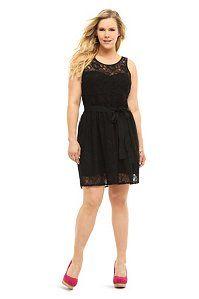 Black Allover Lace Tank Dress | Dresses
