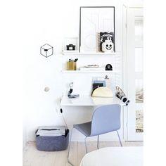 desk space, small desk