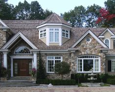 Front door  and rock  Exterior Exterior Design, Pictures, Remodel, Decor and Ideas - page 12