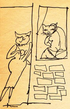 A Cat-Hater's Handbook:  Illustrated by Tomi Ungerer