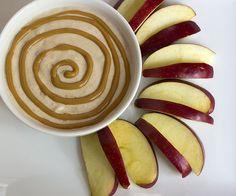 PB Yogurt Dip + Apple Slices
