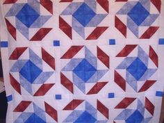 Mosaic Quilt Pattern and tutorial from Ludlow Quilt and Sew