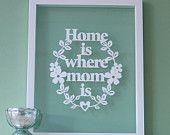 有媽媽在的地方就是家