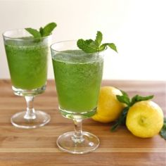 ... — refreshing Middle Eastern ice blended lemonade with fresh mint
