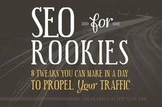 SEO Guide for Rookie