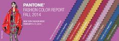 Pantone Announces NY Fashion Week's Top 10 Colors