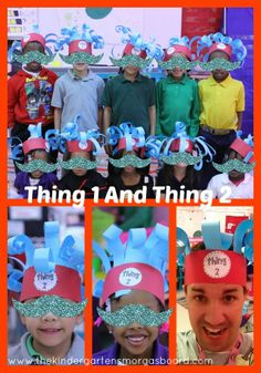 Thing 1 and Thing 2 Hats!
