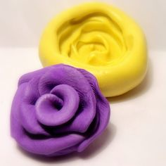 kawaii open rose flexible silicone rubber mold/ mould