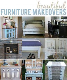 10 Beautiful DIY Furniture Makeovers #diy #furniture #furnituremakeovers